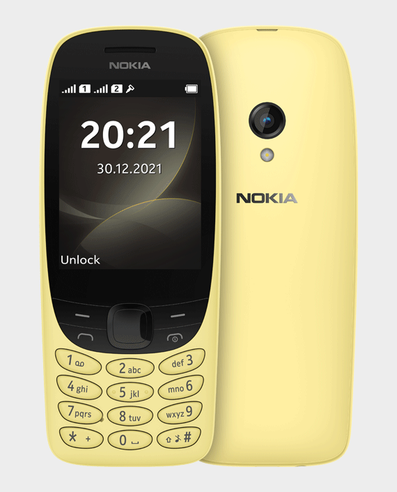 Nokia 6310 Yellow in Qatar Doha