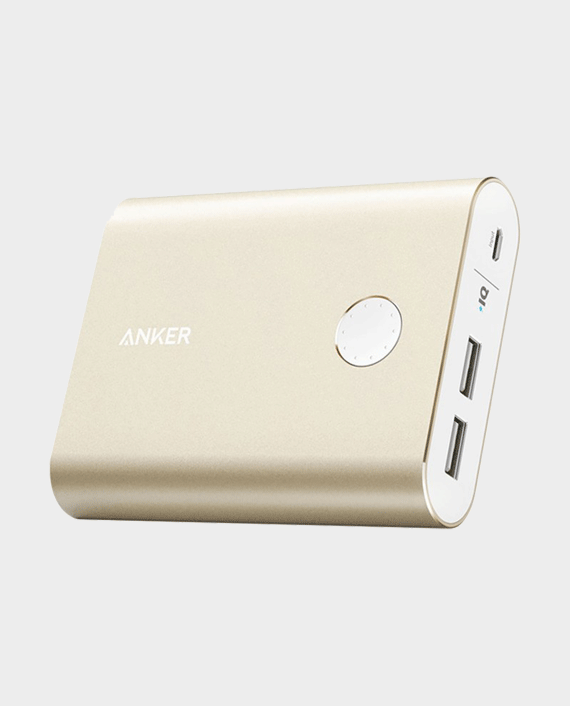 Anker PowerCore+ 13400mAh Quick Charge 3.0 Power Bank Gold in Qatar