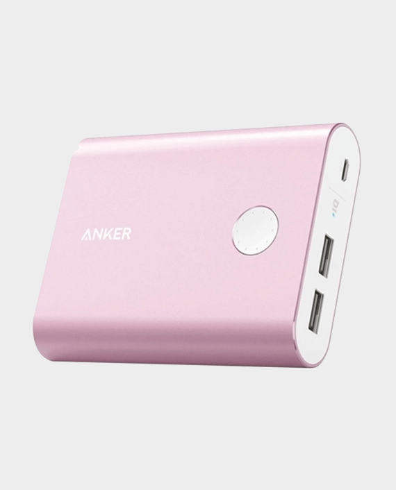 Anker PowerCore+ 13400mAh Quick Charge 3.0 Power Bank Pink in Qatar