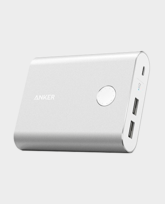 Anker PowerCore+ 13400mAh Quick Charge 3.0 Power Bank Silver in Qatar