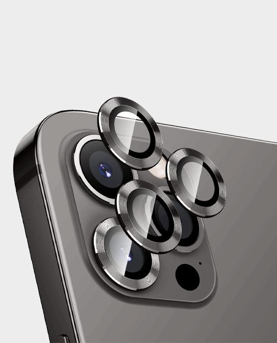 Green iPhone 13 Pro / Pro Max Anti-Glare Camera Glass Protector in Qatar