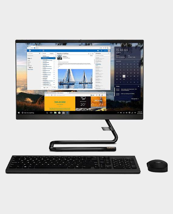 Lenovo IdeaCentre AIO 3 24ALC6 F0G1005QAX Ryzen 7 5700U 16GB RAM 512GB SSD 23.8 Inch FHD Windows 10 Black in Qatar