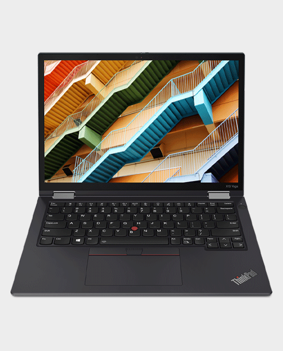 Lenovo ThinkPad X13 Yoga 20W80009AD i7-1165G7 16GB Ram 512GB SSD Intel Iris Xe Graphics 13.3 Inch WUXGA AR IPS MultiTouch Windows 10 Pro Black in Qatar
