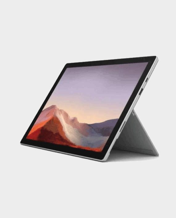 """Microsoft Surface Pro 7+ 1N8-00006 Intel Core i3 8GB Ram 128GB SSD 12.3"""" Display LTE Windows 10 Pro Platinum in Qatar"""
