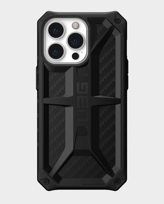UAG Monarch Series iPhone 13 Pro Premium Protection Case Carbon Fiber in Qatar