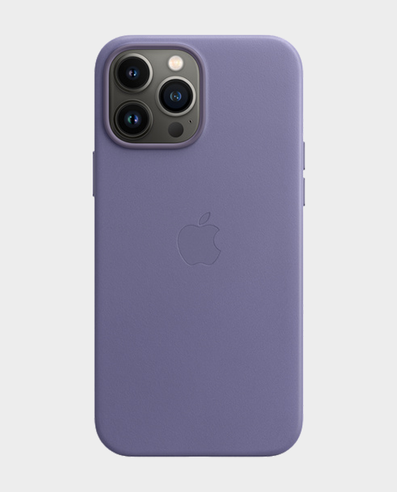 Apple iPhone 13 Pro Max Leather Case with MagSafe Wisteria in Qatar