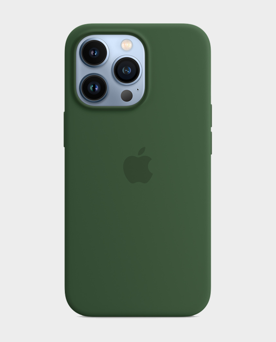Apple iPhone 13 Pro Max Silicone Case with MagSafe Clover in Qatar