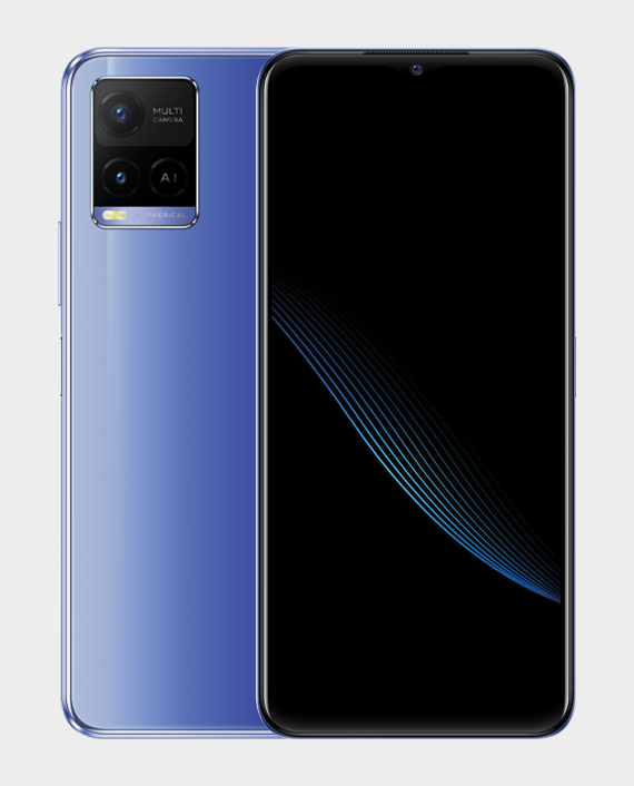 Vivo Y21 4GB 64GB Metallic Blue Price in Qatar